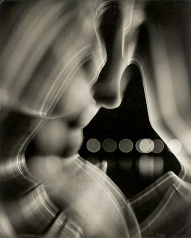 weibliche impression drahtplastik mit fahrender kamera aufgenommen by heinz hajek halke