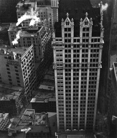 The House Of A Thousand Windows New York By Alvin Langdon Coburn On