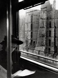 Images of destruction in Berlin (4 works), 1944–1945