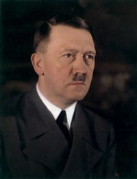 portrait of adolf hitler by walter frentz