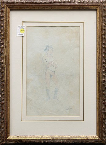 nude dancer by jules pascin