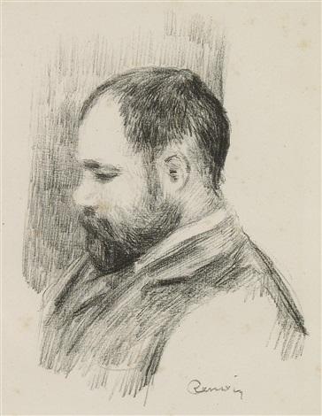 ambroise vollard (from l'album des douze lithographies) by pierre-auguste renoir