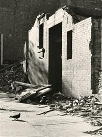 new york city demolition, upper third avenue by walker evans