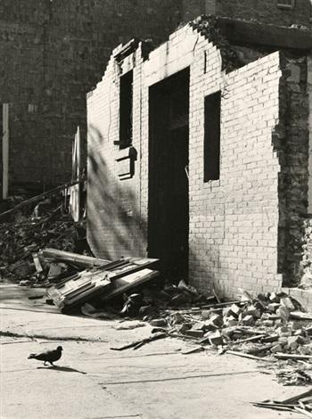 new york city demolition upper third avenue by walker evans