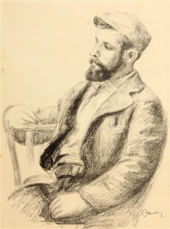 louis valtat from lalbum des douze lithographies by pierre auguste renoir
