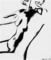 torso (solarisation) by marta hoepffner
