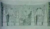 forslag till dekoration med anledning av adolf       fredriks formalning med lovisa ulrika by carl fredrik adelcrantz