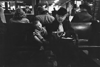 in the waiting room (greyhound bus terminal, 245 west 50th street, new york) by esther bubley