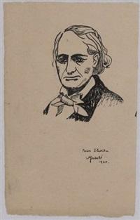 portrait de baudelaire by andré breton
