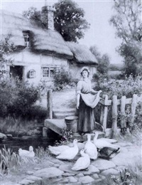 feeding the ducks by s. jowett