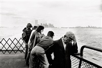 new york, staten island ferry by arno fischer