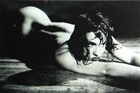 linda wet on floor by richard kern