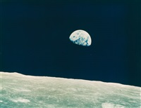 earthrise from apollo 8. december 24, 1968 by william anders