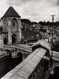 french city by andré kertész
