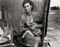 migrant mother (nursing), nipomo, california.by the library of congress by dorothea lange