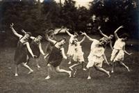 grimm-reiter-schule: schule für künstlerischen tanz und körperkultur, berlin (3 works) by georg haeckel