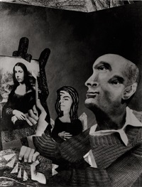 satiric collage of picasso by marc foucault