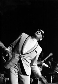 ray charles in concert at the berliner sportpalast by axel benzmann