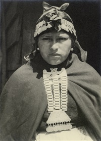araucano indio woman by robert m. gerstmann