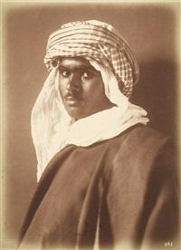portraits of arabian youths (3 works) by lehnert & landrock