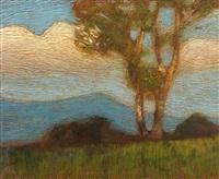 paesaggio con le nuvole by ettore burzi