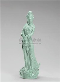 媚态观音 (sculpture of guanyin) by liu yuanchang