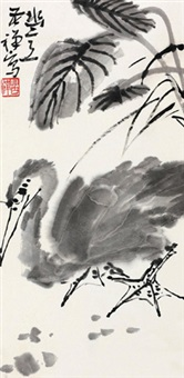 幽意 镜心 设色纸本 by li kuchan