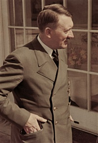 adolf hitler in obersalzberg by walter frentz