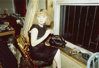 april in the window, new york city; lynelle in japanese restaurant, n.y.c.; honeymoon suite, nuremberger eck, berlin; hotel room zurich., 1988, 1994 and 1995 (4 works) by nan goldin