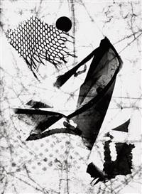 entlassenes hemd eines händlers (negative variant) by heinz hajek-halke