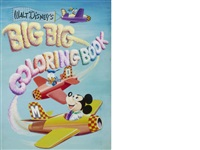 walt disney's big big coloring book by disney studios