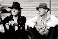 udo lindenberg and joseph beuys in bochum by karin rocholl