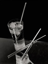 advertising photography (glass and silverware) (3 works) by adolf lazi