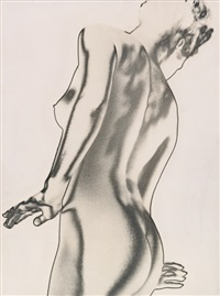 solarized female nude by paul heisman