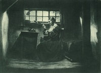 scene from the film das alte gesetz by hans natge