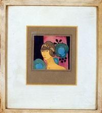 portrait de femme by jacques tristan milan