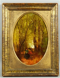 in the woods by albert fitch bellows