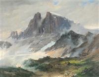 oberhalb braunwald by alexander jules von soldenhoff