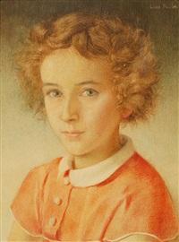 portrait von ursula by charles-louis rivier