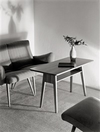interiors (2 works) by willi moegle