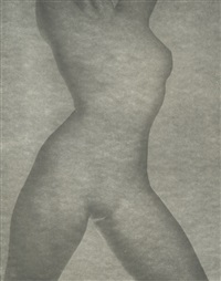 nude female torso by ben magid rabinovitch