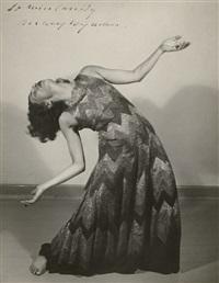 the dancer mary wigman performing der weg by albert renger-patzsch