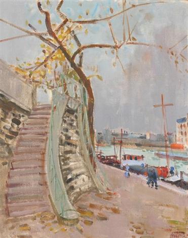 quai de seine by rudolf zender