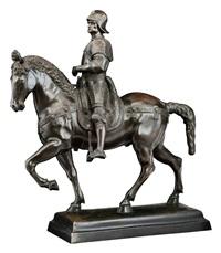 reiterstandbild des condottiere bartolomeo colleoni by andrea del verrocchio