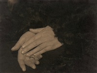 hand study by annelise kretschmer