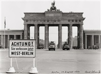 Brandenburg Gate, August 13, 1961, 1961