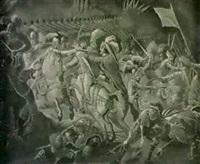 gustaf ii adolf raddas till livet av erik          soop i slaget vid stuhm 1629 - kopia efter jonas akerstrom by jonas noring