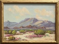 desert scene by harry c. smith