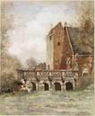 het oude slot te heemstede met de pons pacis by willem george frederik jansen