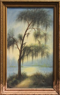 bayou scene by will ousley